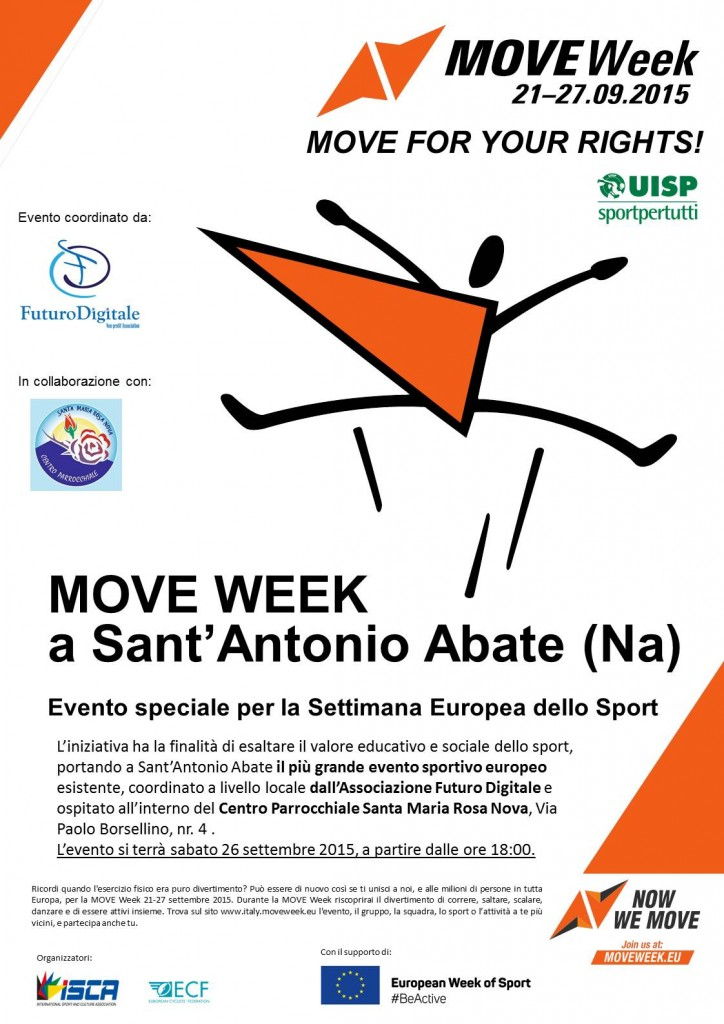 Locandina MOVE Week 2015